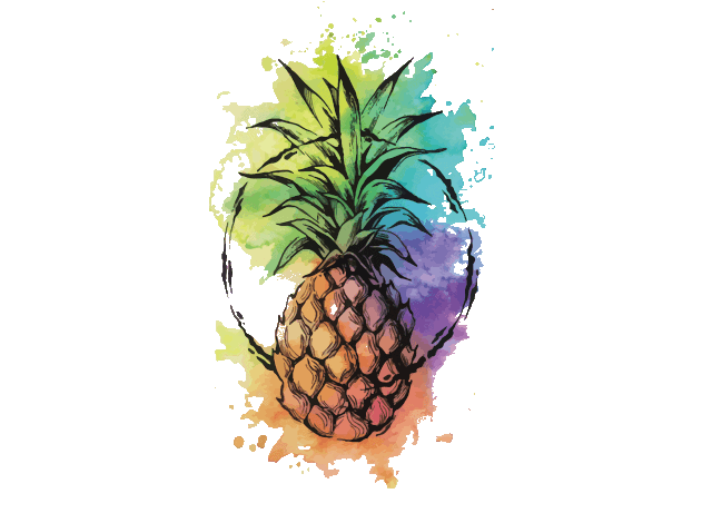 pineapplewatercolor-min2